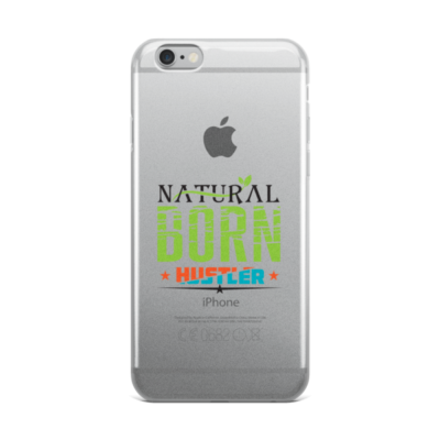 """Natural Born Hustler"" iPhone Case"