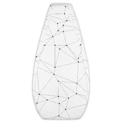 Polygon Pattern Bean Bag Chair Cover