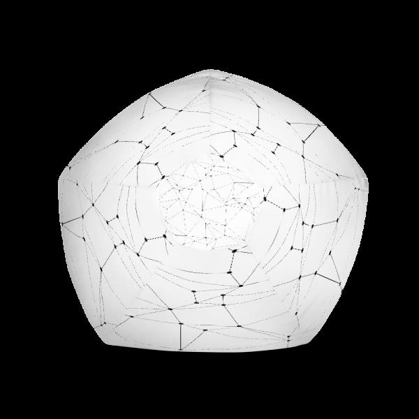 Polygon Pattern Bean Bag Chair